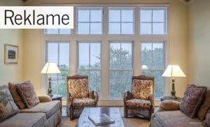 De rette vinduer kan tilføre dit hjem et friskt look