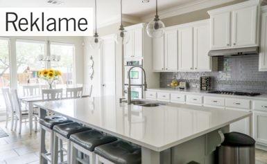Forny dit hjem med et flot køkken